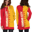 Kansas City Chiefs NFL Team Sport Hoodie Dress for Women Size Medium to 3XL on eBay