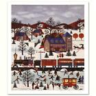 """Wooster Scott """"The View at Ardmore Junction"""" Signed Limited Edition Lithograph"""