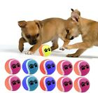 10/20/30/40/50 Tennis Balls Paw Printed For Pets Puppy Play Dog Toy High Bounce