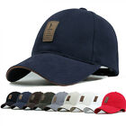 Cotton Baseball Cap Sports Golf Snapback Outdoor Simple Solid Hats For Men S IO