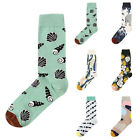 Unisex Socks Cool Crazy Animal Pattern Funny Combed Crew Novelty Dress Sock