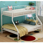 NEW METAL TRIPLE SLEEPER BUNK BED SINGLE AND DOUBLE CHILDREN KIDS