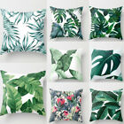 """18"""" Home Cotton Linen Car Bed Waist Cushion Throw Pillow Case Square Cover Gift image"""