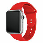 New Silicone Sport Wrist Band For Apple Watch Series 4/3/2/1 38mm 40mm 42mm 44mm