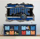 Orlando Magic Wall Art Decal 3D Smashed Basketball NBA Wall Decor WL197 on eBay