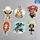 2X 6PCS One Piece Luffy Stickers For Laptop Car Fridge Doodle Stickers Durable