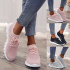 Kyпить Womens Ladies Breathable Trainers Running Sneakers Lace Up Mesh Sport Gym Shoes на еВаy.соm
