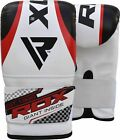 RDX Heavy Punching Bag Set MMA Training Boxing Gloves With Free Mitts Workout