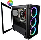 CUK Stratos Micro AMD Ryzen Custom Gaming Desktop with 6 RGB Fans