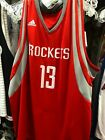 Houston Rockets Swingman James Harden Jersey Mens Size  adidias on eBay