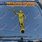 Angel Moroni Decal Sticker Mormonism Book of Mormon Car Vinyl Reflective Glossy