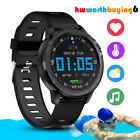 Microwear L8 Sport Smart Watch Waterproof IP68 ECG Blood Pressure Oxygen Monitor