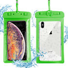 Swimming Kayaking Underwater Dry Bag Waterproof Clear Pouch Case for Cell Phone