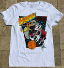Looney Tunes space jam S-3XL T-shirt  Original TV Classic Bugs Bunny basketball