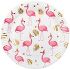 Flamingo Pineapple Birthday Party Tropical Girls Decorations Summer Tableware