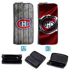 Montreal Canadiens Leather Long Women Wallet Clutch Purse Zip Around $15.99 USD on eBay