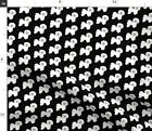 Bichon Frise Black White Fluffy Puppy Dog And Fabric Printed by Spoonflower BTY