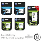 Genuine HP 302 / 302XL Black & Colour Ink Cartridges for HP Envy 4527