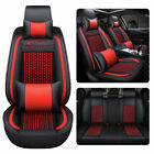 Ice Silk 5D Car Seat Cover Cushion Full Set Universal SUV 5-Seats Protector Set $188.86 CAD on eBay