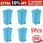Mini Wheelie Bin Desk Tidy Office Desktop Stationery Organiser Pencil Holder SE