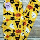 Внешний вид - Girls Kids Scary Cats Ghosts Leggings Halloween Spiders Buttery Soft  S M L