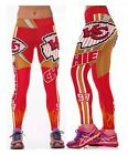 Kansas City Chiefs S/M-XXXL (4-16) Women's Normal Quality Leggings Football $15.95 USD on eBay