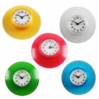 """new Waterproof Bathroom Shower Wall Clock Suction Cup Sucker Home Decor """