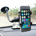 360 Rotation Adjustable Car Phone Windshield Mount GPS Holder For iPhone Samsung comprar usado  Enviando para Brazil