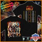 FREESHIP Kiss 2019 End of the Road World Tour Concert T-shirt Black S-6XL Tee image