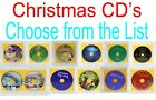 Christmas CD's - DISCS ONLY - PICK LIST