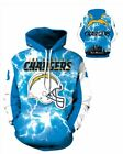 Los Angeles Chargers Team Sport Hoodie Unisex Size Medium to 2X-Large $31.95 USD on eBay