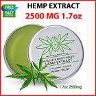 2500MG Hemp Cream Pain Relief Recover Arthritis Muscle Strain Stiff Joint Pain $15.84 USD on eBay