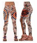Chicago Bears S/M-L/XL (4-16) Women's Normal Quality Leggings Football on eBay