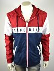 True Religion Brand Jeans Men's Hooded Colorblock Logo Zip Up Jacket - 101952