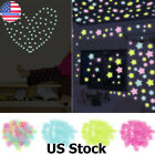 Glow In The Dark Star Wall Switch Stickers Star Fairy Luminous Kids Room Decor