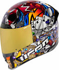 Icon Airframe Pro LUCKY LID 3 Full-Face Helmet (Gold/Multi) Choose Size