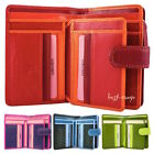 Womens Soft Leather Purse Wallet Multi Colours Visconti New in Gift Box RB51 image