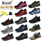 Women's Safety Shoes Steel Toe Work Boots Breathable Sport Outdoor Sneakers Size