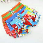 10PCS Boy underwear Spider-Man cotton pantie shorts kid accessories Wholesale