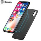 Baseus 2 in1 5000mAh Wireless Power Bank w/ Magnetic Phone Case For iPhone X UK