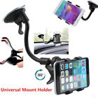 Universal Rotating Car Windshield Mount GPS Phone Holder For Samsung S10 iPhone