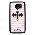 NEW ORLEANS SAINTS PHONE CASE FOR SAMSUNG GALAXY S6 S7 S8 S9 S10 PLUS EDGE NOTE $14.99 USD on eBay