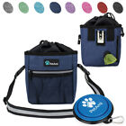 Dog Puppy Outdoor Training Snack Obedience Food Bag Pet Treat Waist Belt Pouch