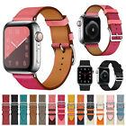 Genuine Leather Wrist iWatch Strap For Apple Watch Band 38mm 42mm Series 5 4 3 2 image