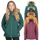 Trespass Genevieve Womens Padded Jacket Casual Quilted Coat With Hood