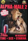 ALPHA MALE 2 FOR MEN SEXUAL ENHANCEMENT MAXIMUM STRENGTH $32.99 USD on eBay