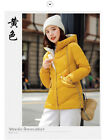 Women's fashion short slim cotton padded worm winter jacket KREDM21785#