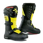 TCX Comp Kids Black Fluo Yellow MX Motocross Motorcycle Boots New