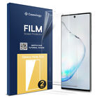 Galaxy Note 10, Note 10 Plus Screen Protectors [FILM] Protective Shield [2-PACK]
