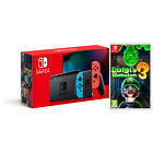 Nintendo Switch Console New 2019 Version with Choice of Game Bundle